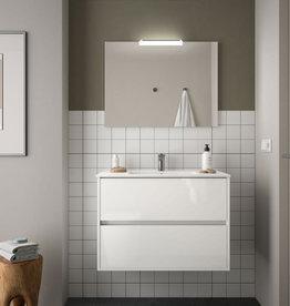 Bathroom Complete set Koja 800 White Glossy