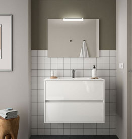 Meble łazienkowych Kompletny Koja 800 White Glossy