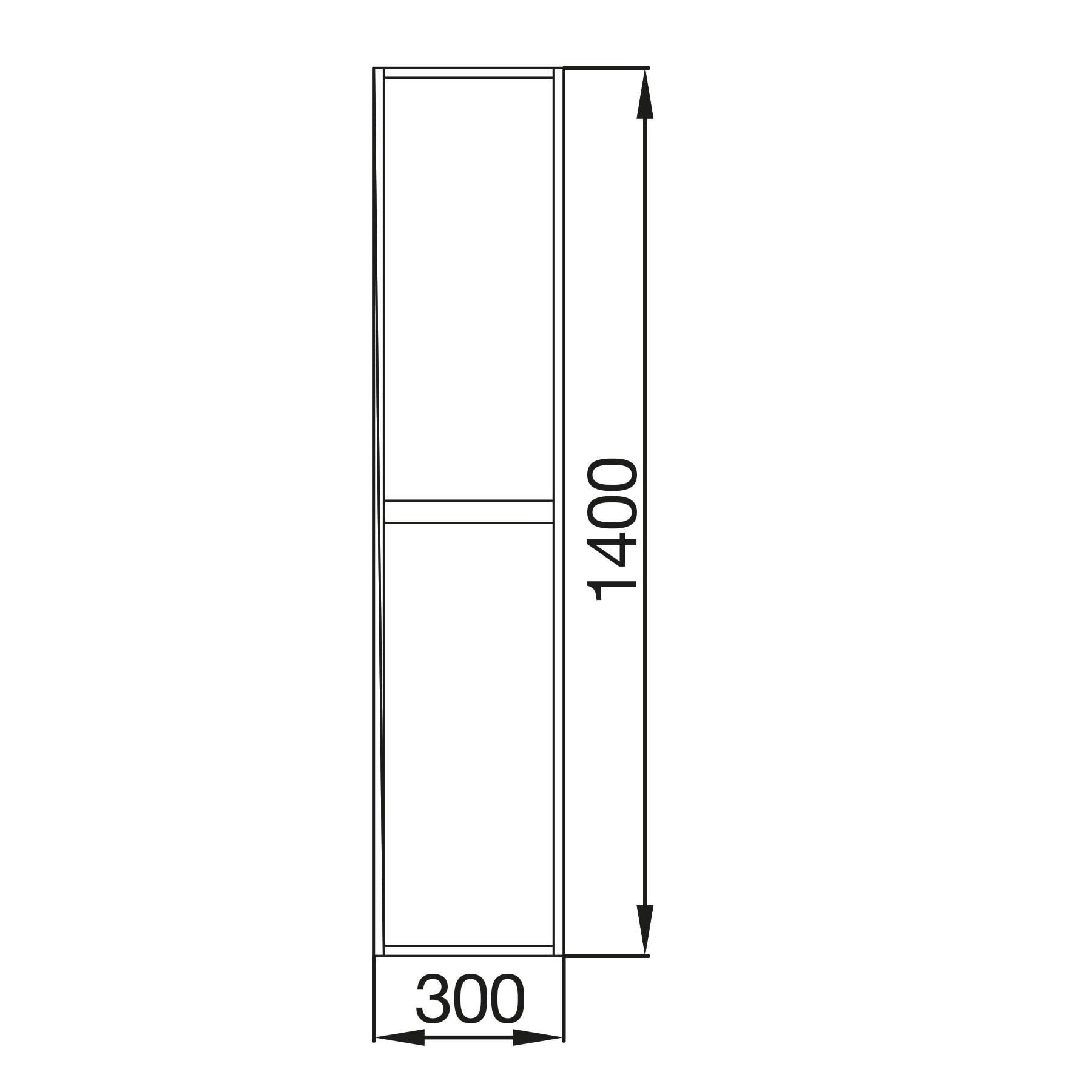 Badmöbel Komplett-Set Koja 800 White Glossy