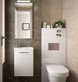 Bathroom Mini 400 White Glossy