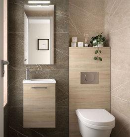 Bathroom Mini 400 Natural Oak