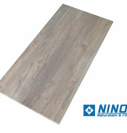 Holzoptik Brown Light Terrassenplatten Feinsteinzeug 2.Sortierung in 80x40x2 cm