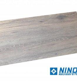 Holzoptik Brown Terrassenplatten Feinsteinzeug 2.Sortierung in 80x40x2 cm