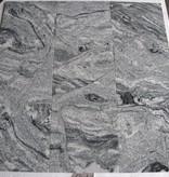 Viscont White Granite Tiles Polished Chamfer Calibrated 30,5x30,5x1cm