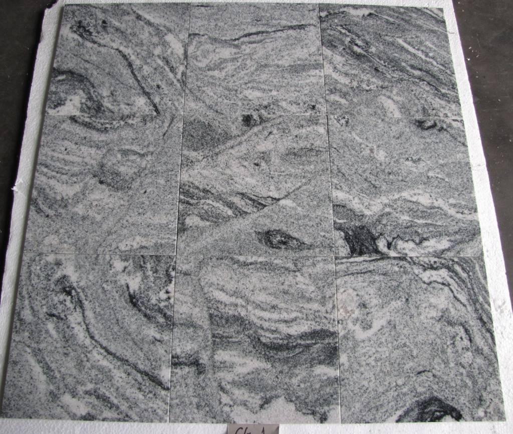 Viscont White Granitfliesen Poliert Gefast Kalibriert 30,5x30,5x1cm