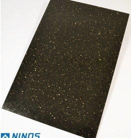 Black Star Galaxy Dalles en granit poli chanfrein calibré 1st choice dans 60x40x1 cm