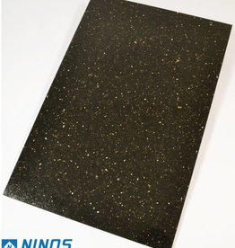 Black Star Galaxy Granite Tiles Polished Chamfer Calibrated 1st choice in 60x40x1 cm