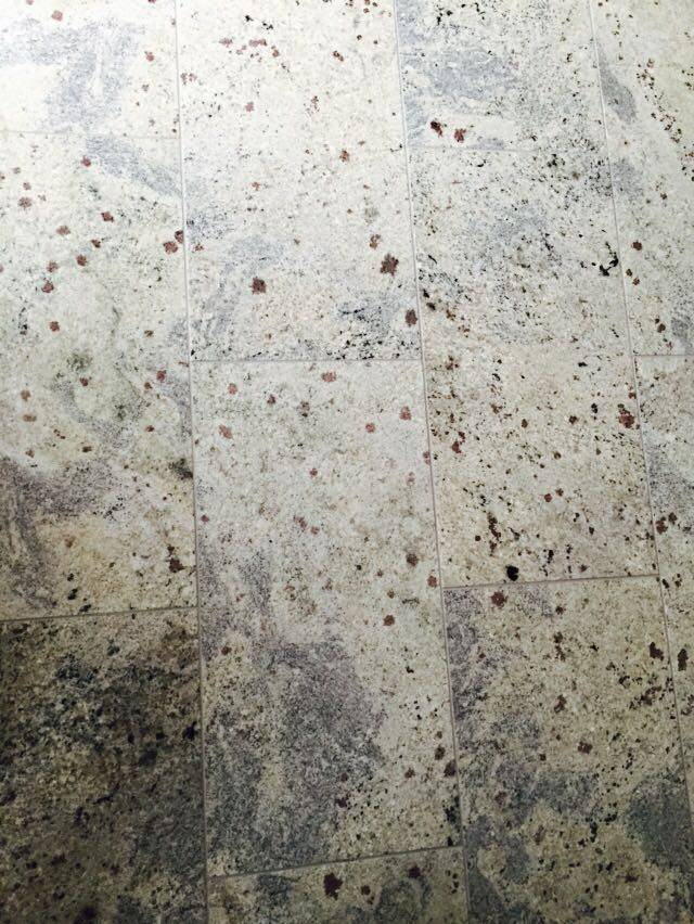 New Kashmir White Dalles en granit poli