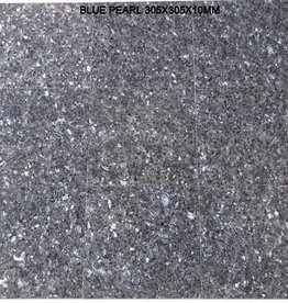 Blue Pearl Granite Tiles Polished, Chamfer, Calibrated, 1st choice premium quality in 30,5x30,5x1 cm