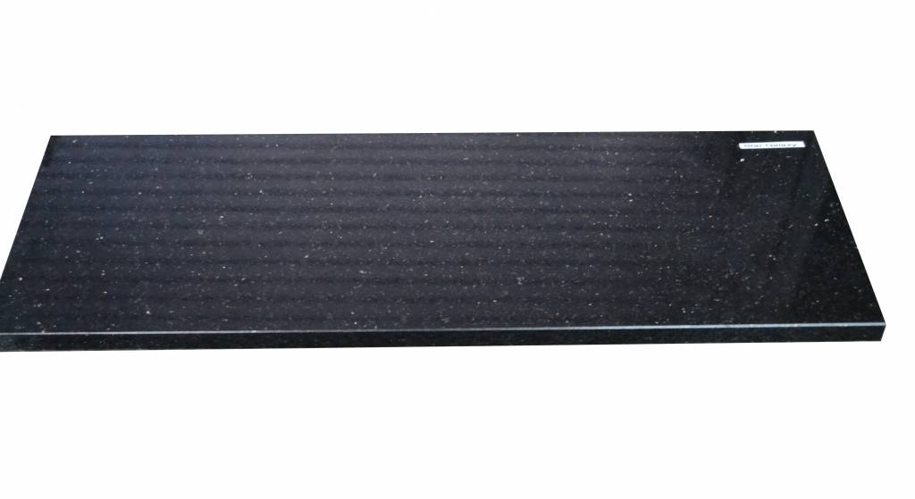 Black Star Galaxy Natural stone windowsill