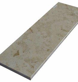 Jura Gelb Marmeren 125x25x2 cm vensterbank gepolijst oppervlak, 1. Keuz, rand tot 1 lange zijde en 2 korte zijden afgeschuind en gepolijst, is het mogelijk om ook te meten!
