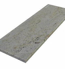 New Kashmir White Naturalny kamień parapet, polerowana powierzchnia, krawędź, aby jeden długi bok i 2 krótkie boki fazka i polerowane, można mierzyć również, 1. wybór!