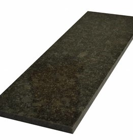 Steel Grey Fenêtre de pierre naturelle seuil surface polie, 1. Choice, bord à 1 côté long et 2 côtés courts anglés et polis, il est possible de mesurer aussi!
