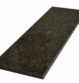 Steel Grey Naturalny kamień parapet, polerowana powierzchnia, krawędź, aby jeden długi bok i 2 krótkie boki fazka i polerowane, można mierzyć również, 1. wybór!