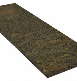 Paradiso Bash Natuursteen vensterbank gepolijst oppervlak, 1. Keuz, rand tot 1 lange zijde en 2 korte zijden afgeschuind en gepolijst, is het mogelijk om ook te meten!