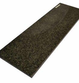 Nero Impala Afryka Naturalny kamień parapet, polerowana powierzchnia, krawędź, aby jeden długi bok i 2 krótkie boki fazka i polerowane, można mierzyć również, 1. wybór!