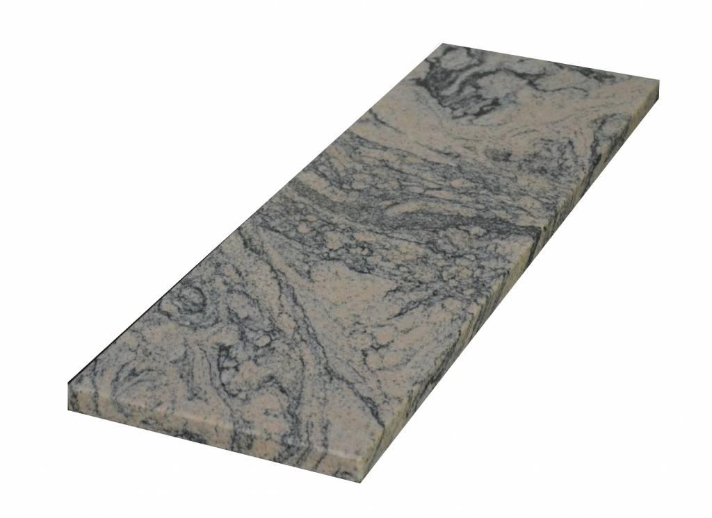 Juparana China Naturalny kamień parapet 85x20x2 cm