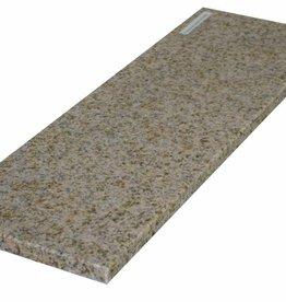 Padang Yellow Natuursteen granieten vensterbank, gepolijst oppervlak, 1. Keuz, rand tot 1 lange zijde en 2 korte zijden afgeschuind en gepolijst, is het mogelijk om ook te meten!