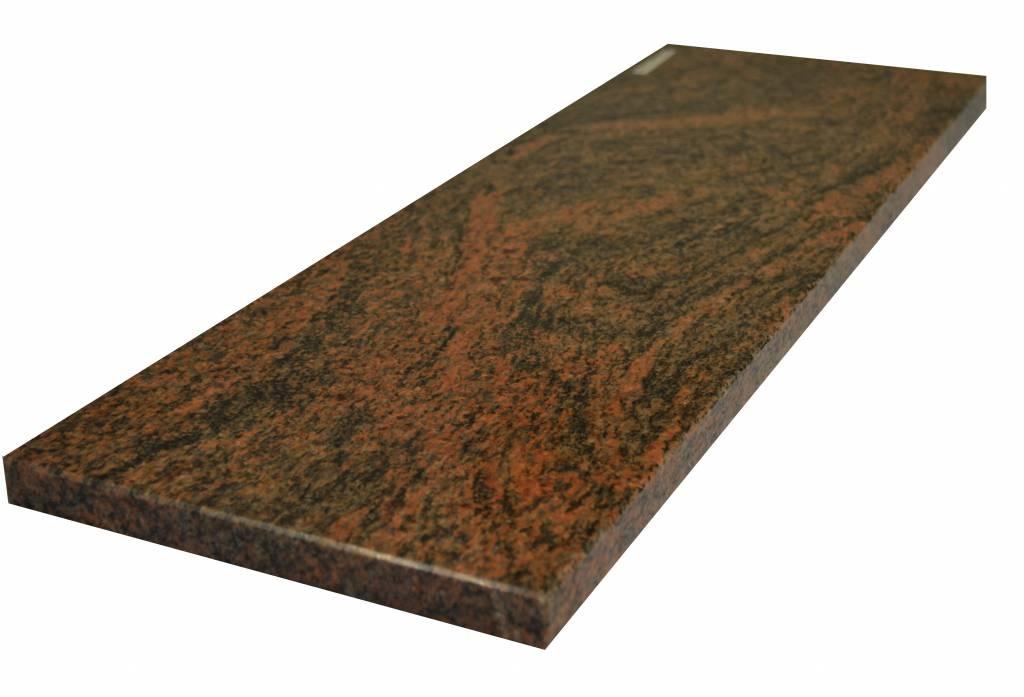 Multicolor Red Natural stone windowsill 240x20x2 cm