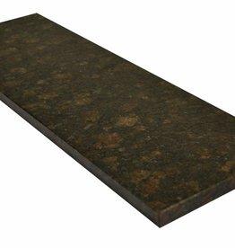 Tan Brown Naturstein Granit Fensterbank, Polierte Oberfläche, 1. Wahl, Kante auf 1 Lange Seite und 2 kurze Seiten Gefast und Poliert, auf Maß auch möglich!
