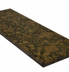 Baltic Brown Naturstein Granit Fensterbank, Polierte Oberfläche, 1. Wahl, Kante auf 1 Lange Seite und 2 kurze Seiten Gefast und Poliert, auf Maß auch möglich!