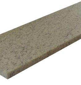 Imperial White Natuursteen vensterbank gepolijst oppervlak, 1. Keuz, rand tot 1 lange zijde en 2 korte zijden afgeschuind en gepolijst, is het mogelijk om ook te meten!