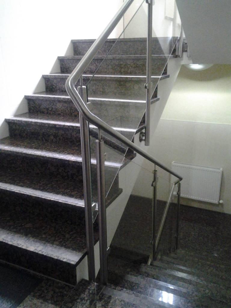 Granite Stairs Natural Stone Straight, 1. Choice