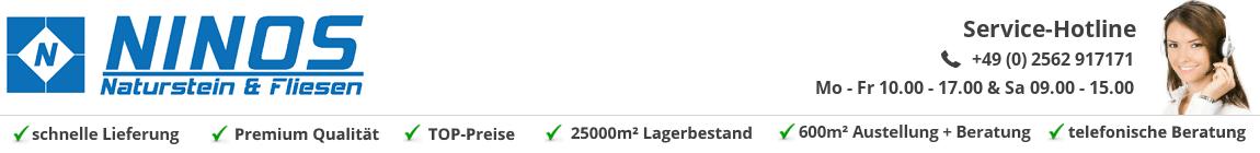Ninos Naturstein & Fliesen: Bodenfliesen | Natursteinfliesen | Granitfliesen