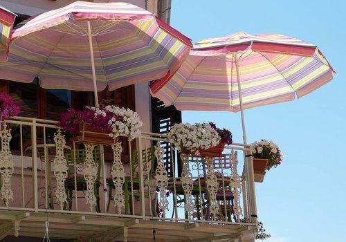 Balkon parasol