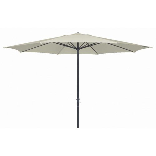 Doppler Parasol Basic Lift II 400 cm rond Taupe