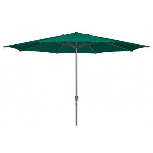 Doppler Parasol Basic Lift II 400 cm rond Groen
