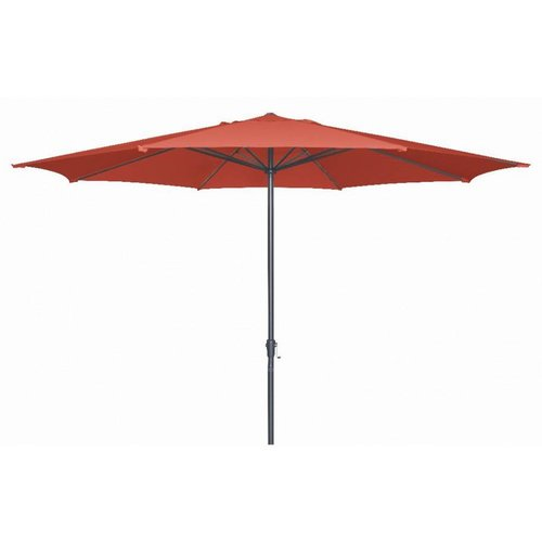 Doppler Parasol Basic Lift II 400 cm rond Terracotta