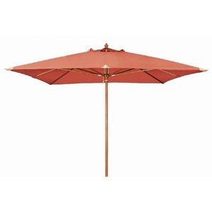 Doppler Houtstok parasol Monte Carlo 300 x 300 cm Terra