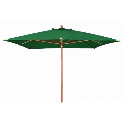 Doppler Houtstok parasol Monte Carlo 300 x 300 cm Groen