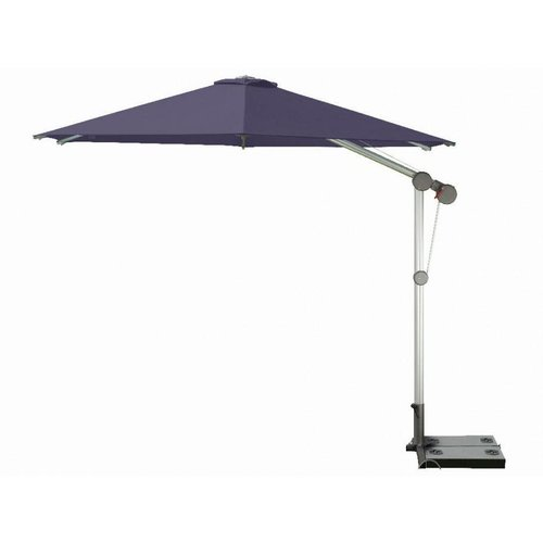 Doppler Zweefparasol PROTECT 340 cm rond Paars