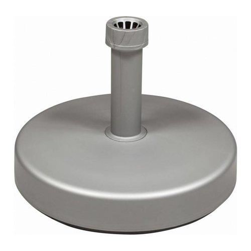 Doppler Parasolvoet vulbaar 25kg zilver