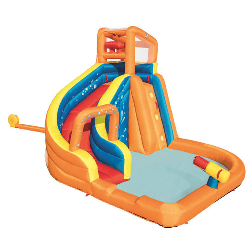 Bestway H2OGO Glijbaan Turbo Splash Water Zone-Mega Water Park 53301