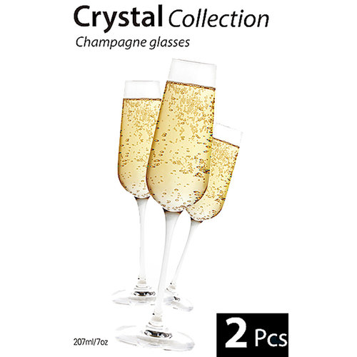 Cuisine Champagne glazen (set van 2)