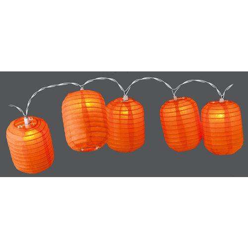 Party Lighting Feestverlichting lampionnen  (cylinder oranje)