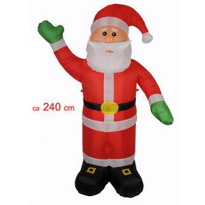 Kerstman 240cm opblaasbaar