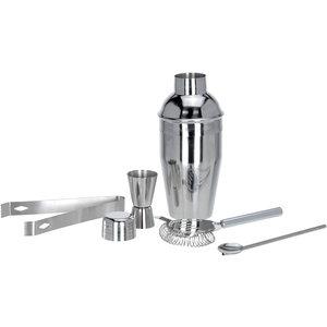 Excellent Houseware. RVS Cocktailshakerset 5 dlg