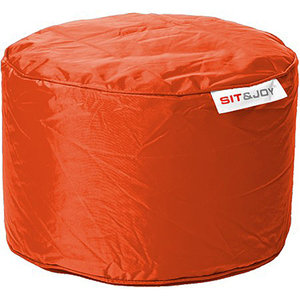 Sit & Joy Zitzak Small Dot 55cm oranje