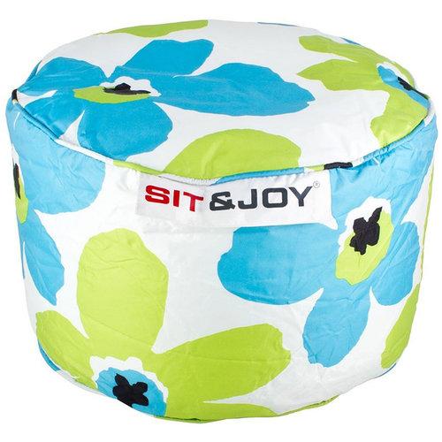 Sit & Joy Zitzak Small Dot 55cm aqua / lime