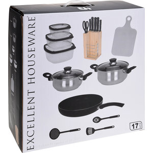 Excellent Houseware. Keukenset 17 delig