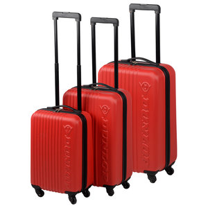 Dunlop Trolleyset ABS rood (3 dlg)