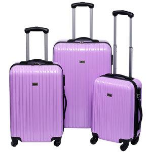 Penn Trolleyset ABS pastel paars  (3 dlg)