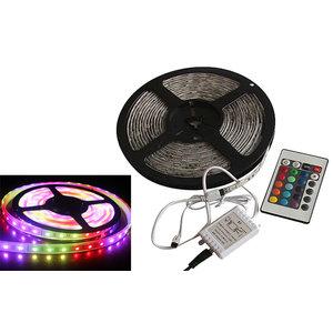 Grundig Flexibele COLOUR-LED-strip met AB (180 LED's, 3 m)