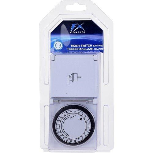 FXcontrol Tijdschakelklok met stopcontact voor buiten