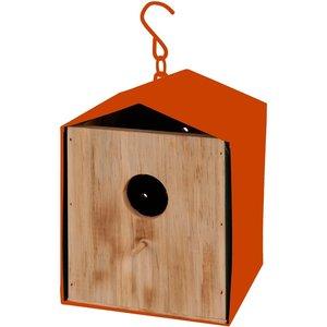 Vogelhuis oranje