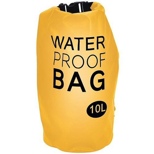 Waterdichte tas 10L geel